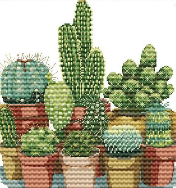 5D Diy Diamond Painting Kits Special Plant Cactus NA0343
