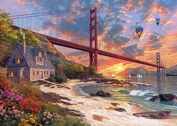 2019 5D DIY Diamond Painting Kits Suspension Bridge VM92355