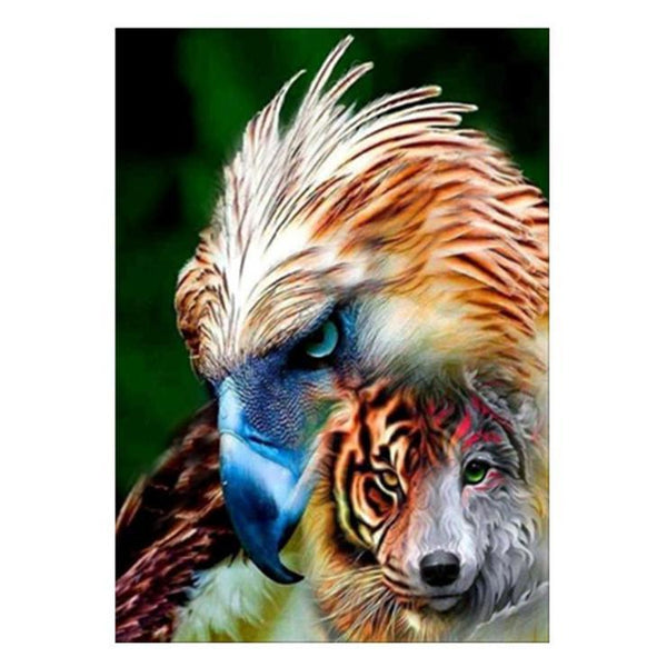 2019 5d Diy Full Diamond Painting Kits Special Animal Tiger Picture QB5061