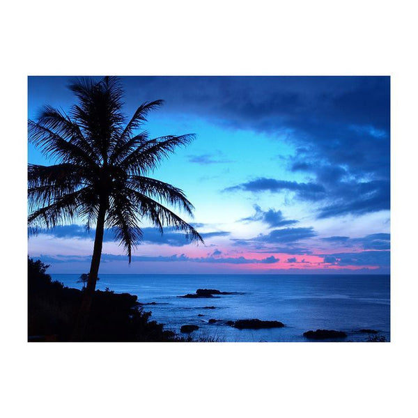 5d Diamond Painting Kits Blue Style Popular Wall Decoration Sea night Af9594