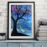 Kids Gift Popular Fantasy Styles Tree Diamond Painting Kits AF9577