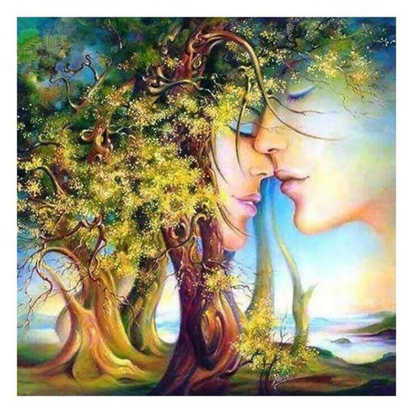Fantasy Styles Romantic Tree Diamond Painting Kits AF9564