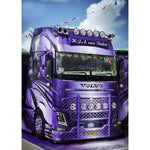 Dream Truck 5D DIY Embroidery Cross Stitch Diamond Painting Kits NB0026
