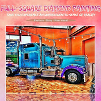 2019 5D DIY Diamond Painting Kits Truck NB0028