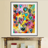 2019 5d Diy Rhinestone Cross Stitch Heart Pattern VM1385 (1766951583834)