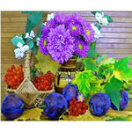2019 5d Diy Diamond Painting Kits Colorful Flower VM9561