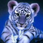 2019 5d DIY Diamant Painting Kits Cute Little Tiger VM1215 (1766946308186)