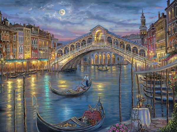 5D DIY  Diamond Painting Kits Venice City Landscape Bridge NB0013