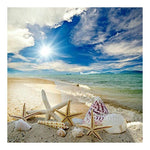 Dream Series Shell Beach Summer Diamond Painting Kits AF9030