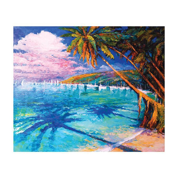 Oil Painting Styles Beach Summer Diamond Painting Kits AF9028