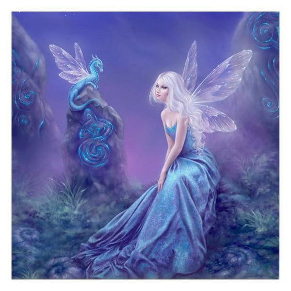 Fantasy Styles Beauty And Baby dragon Diamond Painting Kits AF09336