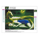 Dream Styles Sleeping Girl and the Magic Dragon Diamond Painting Kits AF9382
