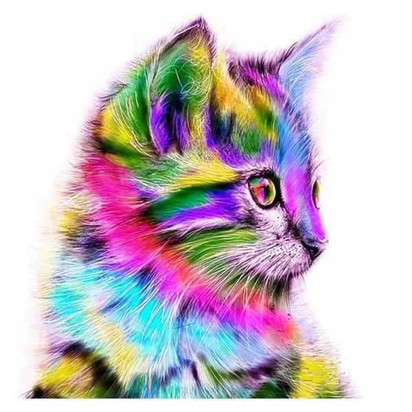 Hot Sale Special Beautiful Cat 5d Diy Cross Stitch Diamond Painting Kits VM0001