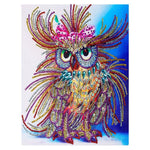 Hot Sale Lovely Colorful Owl Diamond Painting Kits AF9273