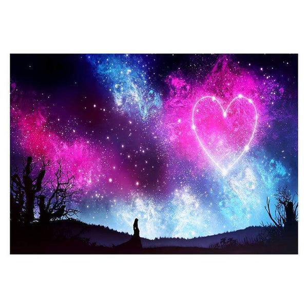 Hot Sale Romantic Blue&Pink Starry Sky Diamond Painting Kits AF9678