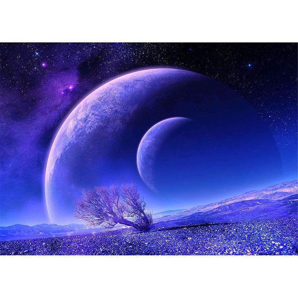 5D DIY Diamond Painting Kits Super Cool Dream Blue Starry Sky AF9682