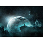 Dream Series Super Cool Blue Planet Starry Sky Diamond Painting Kits AF9688