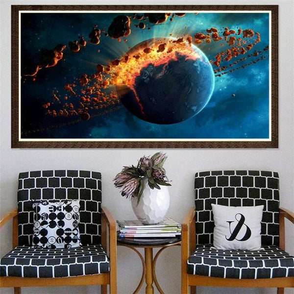 Cool Wall Decoration Starry Sky Diamond Painting AF9655