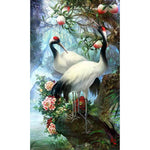 2019 5d DIY Diamond Painting Kits Dream Red Crowned Crane VM8191