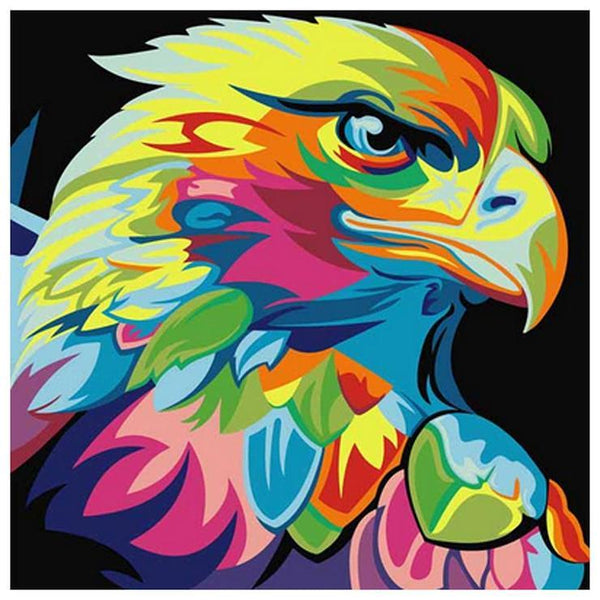 5d Diamond Embroidery Kits Special Colorful Eagle Diy VM3523