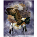 2019 5d Diy Diamond Painting Kits Eagle Pattern VM8105