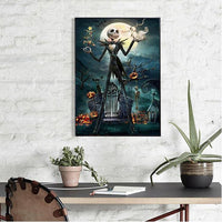 2019 5d Diy Rhinestone Stitch Kits Wall Decor Halloween VM48087 (1767034519642)