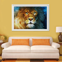 2019 5d Diy Diamond Painting Kits Lion Animals VM04047 (1767027900506)