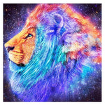 5d Diy Diamond Painting Kits Special Cheap Lion VM9090