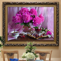 5D DIY Diamond Painting Kits Embroidery Art Flower Fruit VM90969