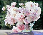 2019 5d Diy Diamond Painting Kits Peony Flowers VM9451