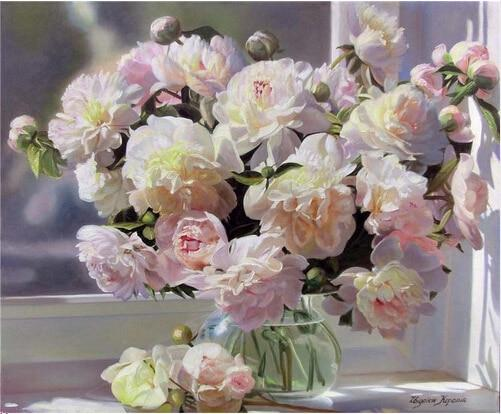 2019 5d Diy Diamond Painting Kits Peony Flowers VM9448