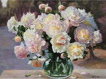 2019 5d Diy Diamond Painting Kits Peony Flowers VM9434