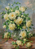 Cheap Oil Painting Style Stitch Flowers 5d Diy Diamond Painting Kits VM936