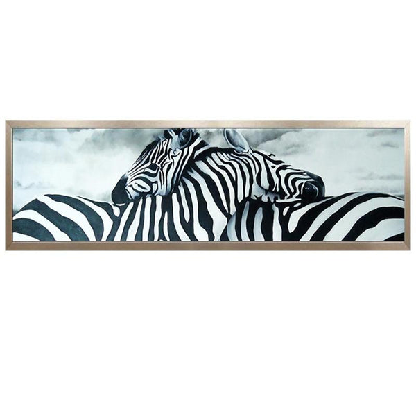 Large Size Zebra 5D Diy Embroidery Cross Stitch Diamond Painting Kits NA70381