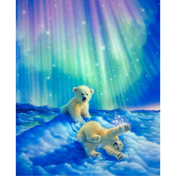 5D DIY Diamond Painting Kits Embroidery Art Cross Stitch Baby Bear VM90550