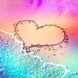 5d Diy Diamond Painting Special Beach Heart Valentines Day  VM1021 (1766931497050)