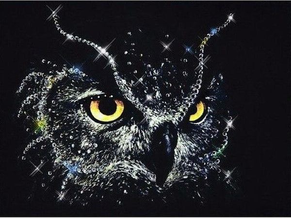 5D DIY Diamond Painting Embroidery Cross Stitch Kits Animal Owl VM90500