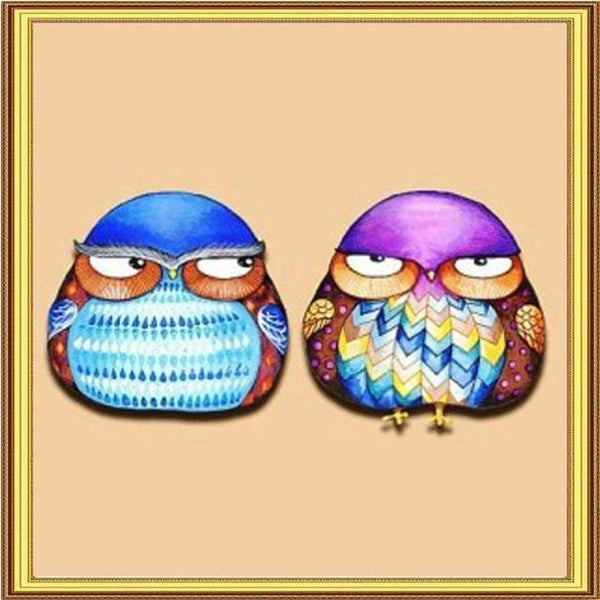 2019 5D DIY Diamond Painting Kits Cartoon Owl VM90754