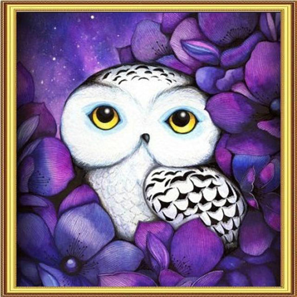 2019 5D DIY Diamond Painting Kits Embroidery Arts Cartoon Owl VM90750