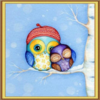 2019 5D DIY Diamond Painting Kits Embroidery Arts Owl VM91062