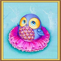 5D DIY Diamond Painting Kits Embroidery Arts Cartoon Owl VM90748