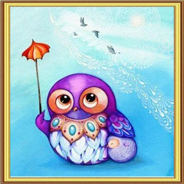 2019 5D DIY Diamond Painting Kits Embroidery Cartoon Owl VM90745