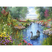 2019 5d DIY Diamond Painting Kits Spring Landscape VM8179