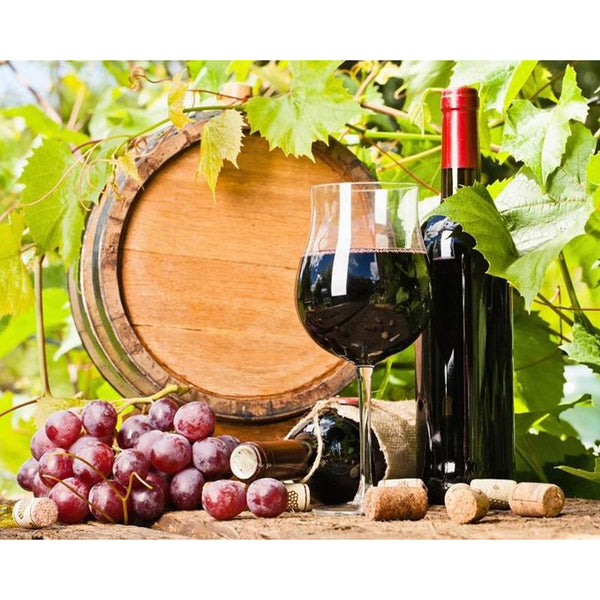 2019 5d Diamond Painting Set Fruit And Wine Decor Diy VM20201
