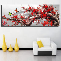 2019 5d Diy Diamond Painting Kits Red Tree VM07342