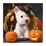 2019 5D Diy Diamond Painting Kits Halloween Dog VM90190