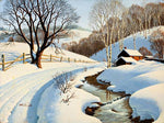 2019 5D Diamond Art Painting  Winter Landscape Diy VM01167