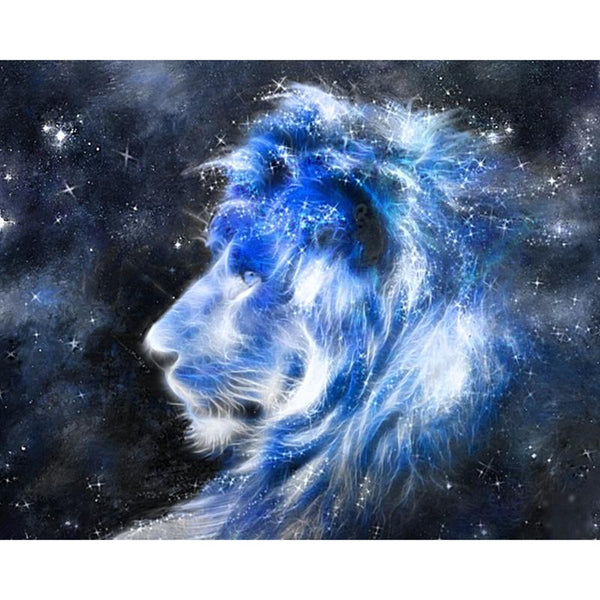 5d Diy Diamond Painting Kits New Arrival Dream Lion VM8581