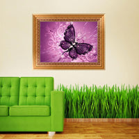 Dream Modern Art Beautiful Butterfly Diy 5D Diamond Painting Cross Stitch VM1163 (1766942310490)