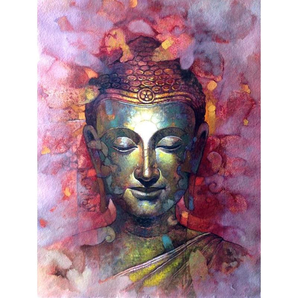 2019 5D DIY Diamond Painting Kits Buddha Flower VM20518